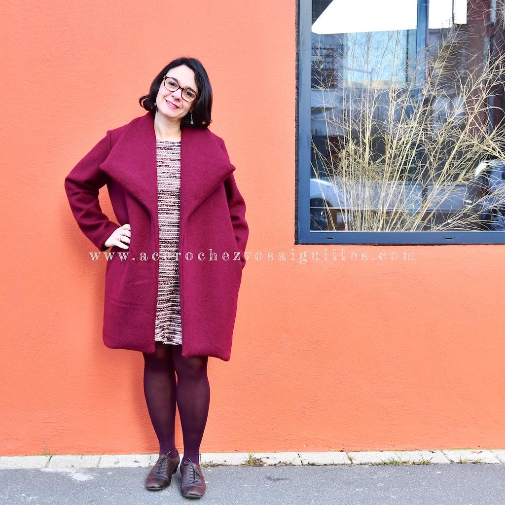 Manteau Olga sans la ceinture