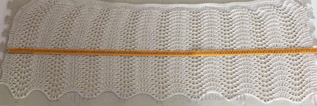 Cape tricot blocage
